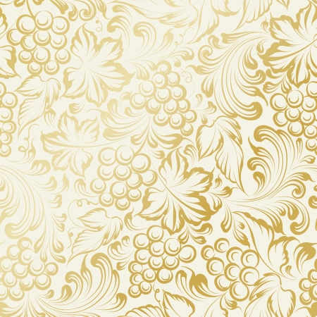 Vine seamless background. Vector illustration Illustration