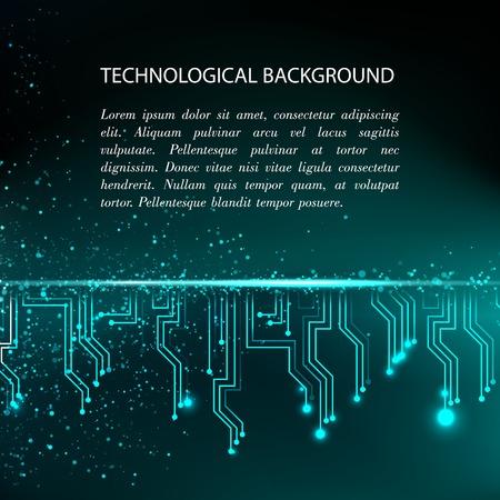electronic background: Digital background