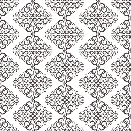 luxe: turquoise vintage wallpaper with texture Illustration