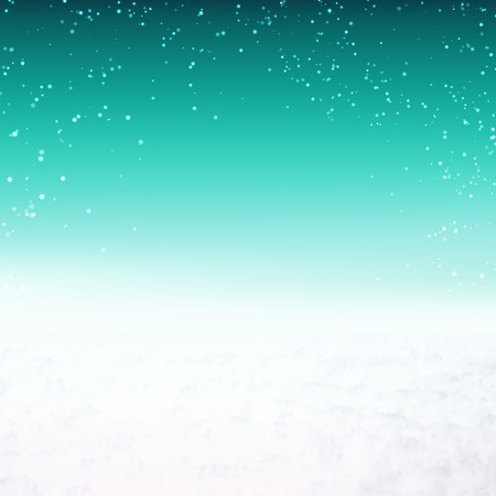icy: Snow environment background with sky and snow. Vector illustration. Illustration
