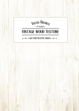 Wood texture for your shabby chik vintage design. Vector illustration. Vector