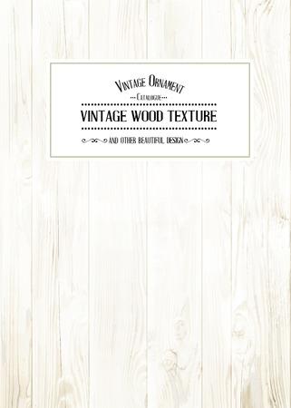 chik: Wood texture for your shabby chik vintage design. Vector illustration. Illustration