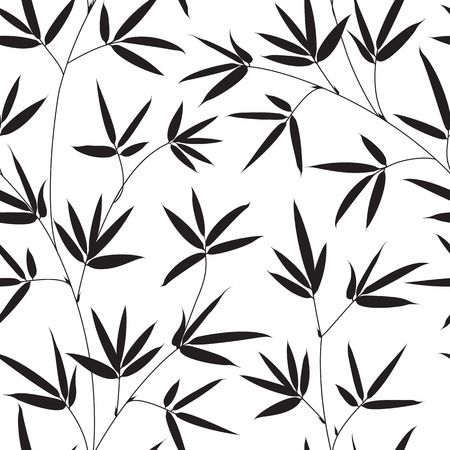 fabric swatch: Bamboo seamless texture for fabric swatch. Vector illustration.