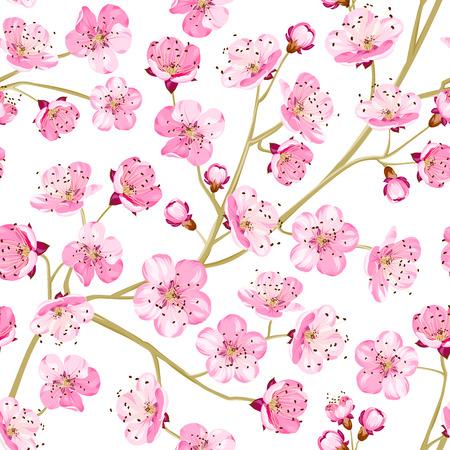 Spring flowers wallpaper over white background vector illustration spring flowers wallpaper over white background vector illustration stock vector 40099915 mightylinksfo