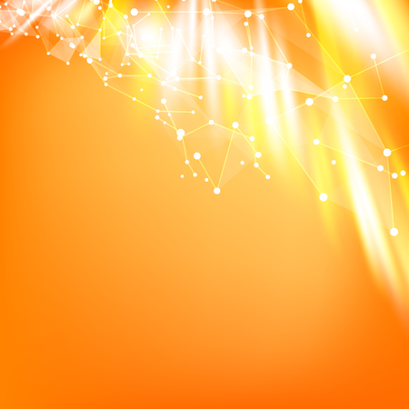 smooth background: Abstract smooth background. Orange background. Background of triangles.