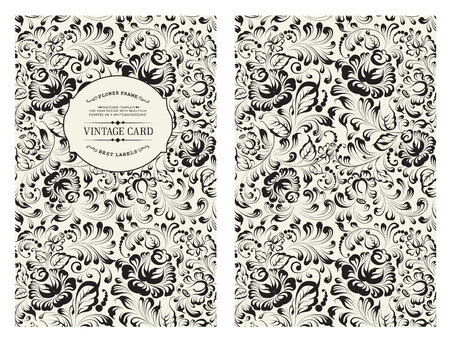 black and white flowers: Cover design for you personal cover.