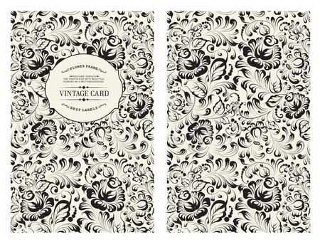 flowers: Cubra diseño para usted portada personal. Vectores