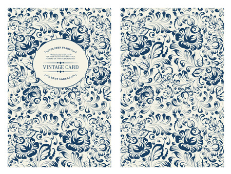 vintage wallpaper: Design for you personal cover.
