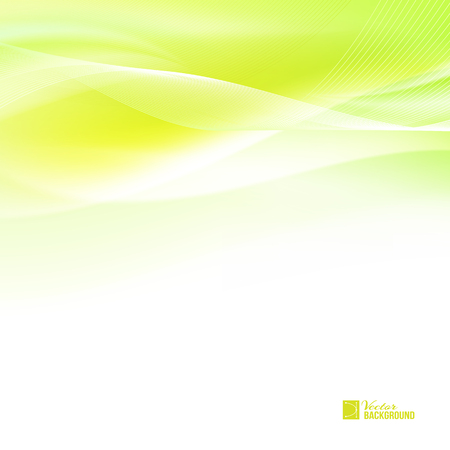 breeze: Abstract orange wind. Tender orange light abstract background. Colorful smooth light lines background. Vector illustration, contains transparencies, gradients and effects. Illustration