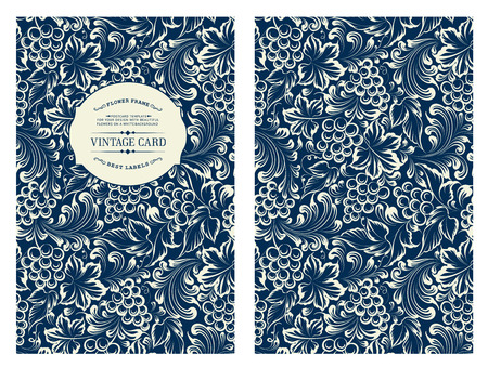 wine book: Design for you personal cover. Vine pattern. Vine theme for book cover. Wine texture illustration in style of engraving. Vector illustration.