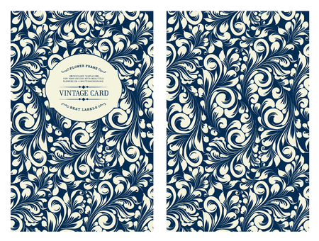 texture of illustration: Cover design for you personal cover. Spring flower swirls. Floral theme for book cover. Flower texture illustration in style of engraving. Vector illustration.