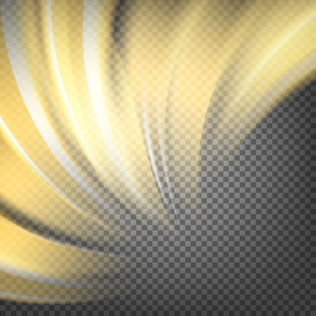 transparence: Colorful smooth light lines background. Vector illustration, eps 10, contains transparencies.