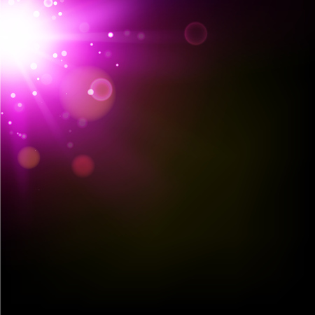 flashes: Flash abstract background. Abstract shining. Space futuristic purple background. Sun with lens flare. Vector illustration. Illustration