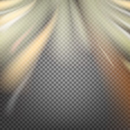 transparence: Shiny smoke streams of sunbeams on the transparency background.