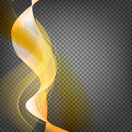 transparence: Shiny smoke streams of sunbeams on the transparency background Illustration