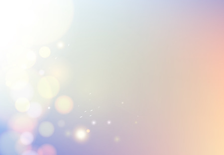 starshine: Shiny sunburst of sunbeams on the abstract sunshine background withdust bokeh effect. Vector illustration. Illustration