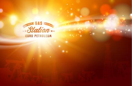 sunbeams: Shiny sunburst of sunbeams on the abstract sunshine background and transparency background. Vector illustration. Illustration
