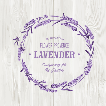 Beauty lavander skin care design. Lavender Oil text with white background. Regenerate cream and Vitamin Background of Concept Skin Care Cosmetic. Vector illustration.
