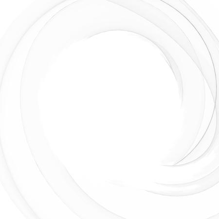 Bellissimo concept design astratto. Turbinio grigio e sfocatura dello sfondo vortice. Forma di luce astratta. Carta da parati sfumata grigia. Illustrazione vettoriale. Vettoriali