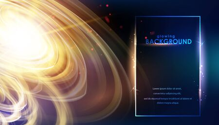 Shining galaxy, swirl of sparks, glowing tornado for science template