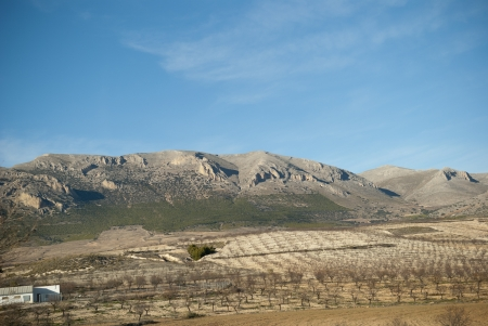 spanish landscapes: Spanish landscapes on a way from Valencia to Granada