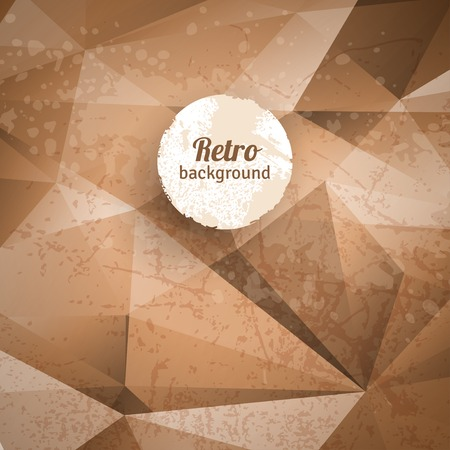 coffee stains: Vector illustration. Vintage frame, invitation design with messy stains.