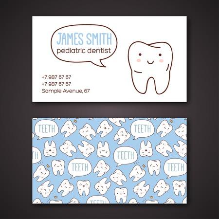 Vector illustration. Enfants dentisterie et l'orthodontie. Caractères vecteur mignon. Banque d'images - 32111012