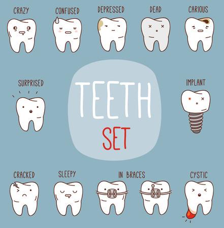 dientes sucios: Establece tratamiento dientes.