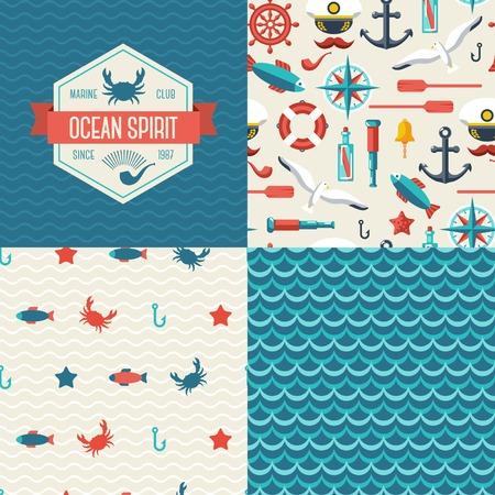 paddle wheel: Marine themed design