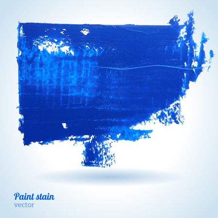 textured paper: Paint on textured paper. Blue stain for scrapbook elements. Hipster design elements.