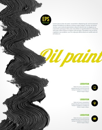 steady: Vector illustration. Abstract shape. Hand drawn. Grunge texture. Vector design layout for presentations, flyers, posters, catalog or brochure cover.