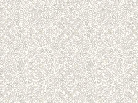 Cordón de la vendimia floral vector sin patrón, azulejos. Textura sin fin para la impresión sobre tela y papel de regalo o reserva de chatarra. Patrón geométrico para el diseño de la boda.