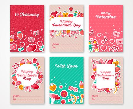 Día de San Valentín Poster Foto de archivo - 49611478