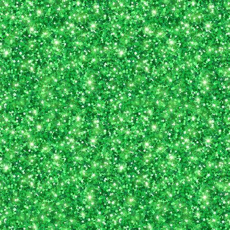 Green shining seamless pattern for Happy St. Patricks Day Design.