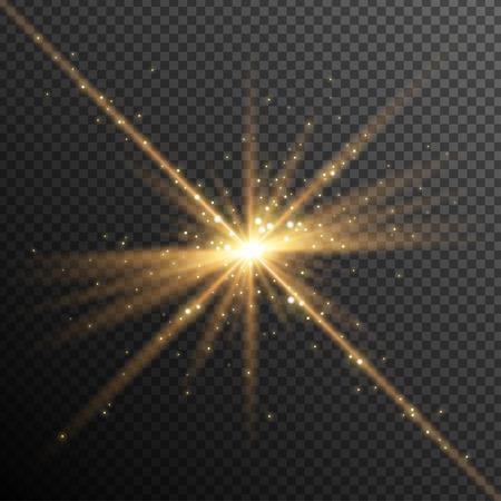 nakładki: Streszczenie światła Nakładka Wpływ na przezroczystym tle.