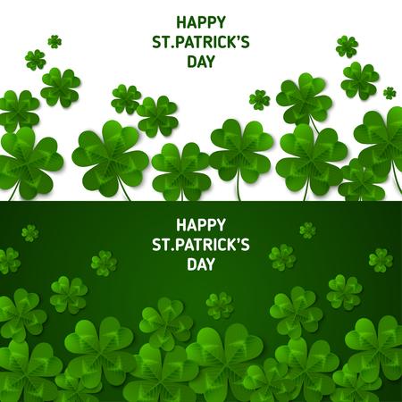 Saint Patricks Day Horizontal Banners