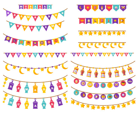 Ramadan Kareem Decorations Set