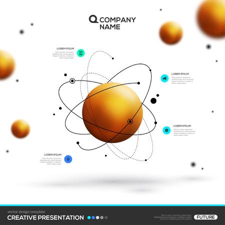 金球粒子と原子構造