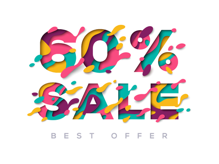 Paper cut sale 60 percent off