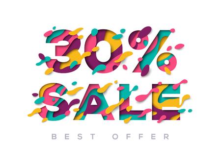 Paper cut sale 30 percent off
