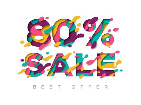 Paper cut sale 80 percent off