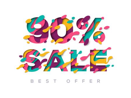 Paper cut sale 90 percent off
