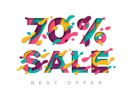 Paper cut sale 70 percent off