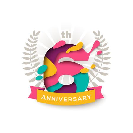 Six years anniversary