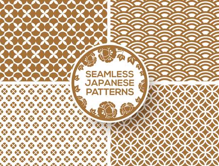 Or japonais motifs Banque d'images - 91045701