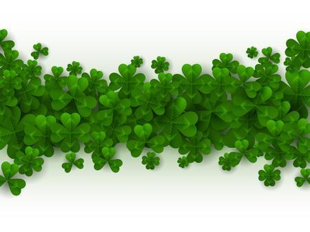 St. Patrick's day border.