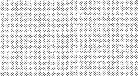 Seamless pattern of small rhombus. Vector illustration. Canvas or fabric texture imitation