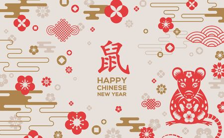 Chinese 2020 New Year Banner