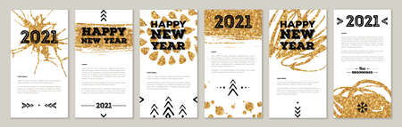 Cute New Year Greeting Cards