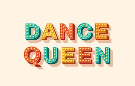 Print Dance Queen